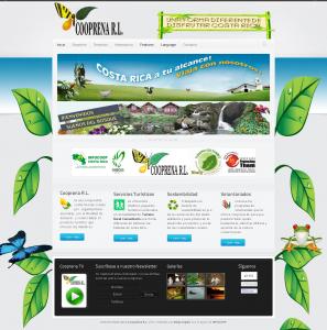 Cooprena Homepage