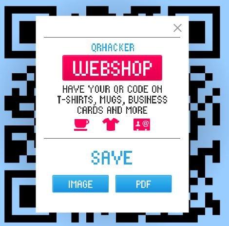 Creando códigos qr, escogiendo el formato