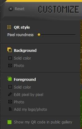 Creando código qr customización