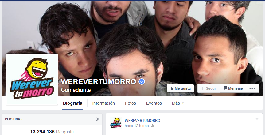 werever tumorro facebook